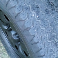 245/70/16 good year wrangler tyres used R1500 @ Shelly Beachwood