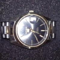Seiko 5 18K Gold Plated Wristwatch (Mens)