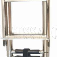 INOX STAINLESS STEEL TELESCOPIC LADDER 870mm