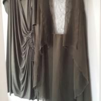 Designer Plus Size Mother of the Bride Dress