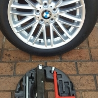 BMW F10 M5 18 inch Original Space Saver Biscuit Spare wheel with Tools