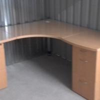 3x Maple L-shape Office Desks_R 2000 each.