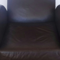 """Full Grain Leather Chair IN Excellent Condition!! Very Solid And Heavy.. """"Alpine"""" Full Leather All"""