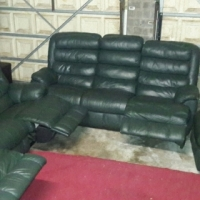 HOUSE SALE!! Selling All My leather Upmarket Leather Sets and Couches!! 1. Large Alpine Leather Recl