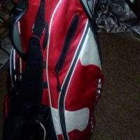 Hardly used Golf Clubs and Size 11 Shoes
