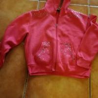 Ladies hoodie. XL R35 coral colour