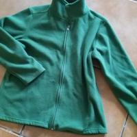 Fleecy jacket. Size 14