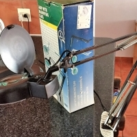 Magnifyer Lamp For Fine Precision Work - Health Electronic Engineering Hobby