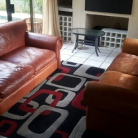 Leather KUDU Suite In Excellent Condition!! Full Grain Kudu Leather!! (2x 2.5-Seaters).. Big Enough