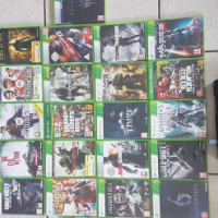 Xbox 360 console with 22 games