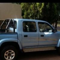 Toyota Hilux 2.7 ltr 4 x 4 double cab