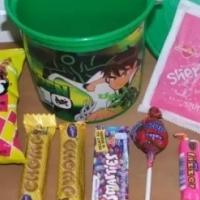 Kids party packs supplies