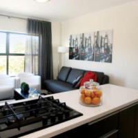 1 bedroom offered in a 3 bedroom townhouse at STANLEY PARK