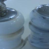 Marble salt and pepper Grinder