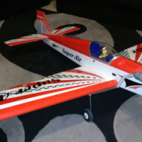 Rc Plane Blackhorse Super Air 46 Size
