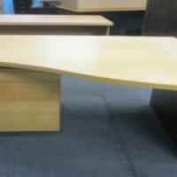 corner desk + drawers