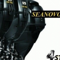 Outboard Motor 8 HP short shaft 4 stroke Motor.Seanovo,Brand New