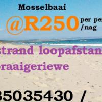 Vakansie Akkommodasie - Hartenbos (Mosselbaai) - R250 per persoon