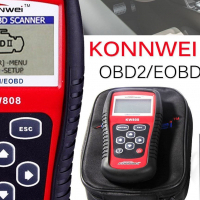 KONNWEI KW808 (OBD2) DIAGNOSTIC CODE READER RESET TOOLS FOR SALE!!