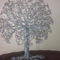 Decorative Wire Tree