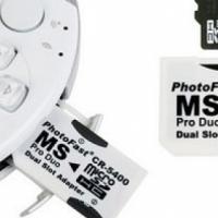 PSP MEMORY CARD ADAPTERS - Sony Camera Memory Card Adapters