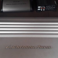 Lightning audio la4100 4 channel amp