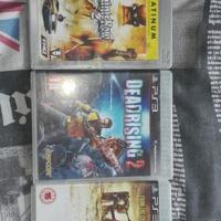 3 x PlayStation3 games.