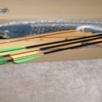 Kiddies wooden bow + Arrows