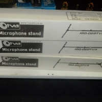 3 x Otva Microphone Stands