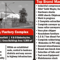Warehouse/Factory Complex on Auction