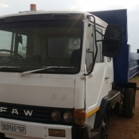 FAW 6 cube Tipper Truck ADE for sale