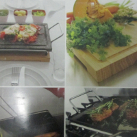 origami cooking stone