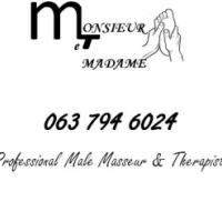 Professional male therapist