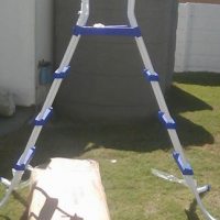 Double sided ladder