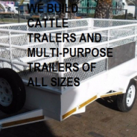 CATTLE TRAILERS AND MULTI-PURPOSE TRAILERS  FOR SALE