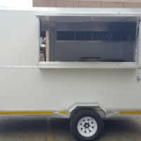 NEWLY BUILT FOOD TRAILER FOR SALE