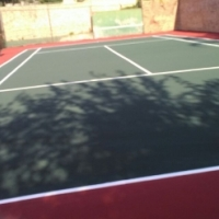 Tennis court repair maintenance