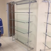 Glass shelves for sale x3