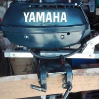 Yamaha boat engine air cooled Horse power 3.5