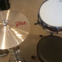 Tama Snare and Paiste Hi-Hat