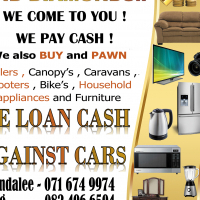 Loan cash against your vehicle , trailer , truck or bike !
