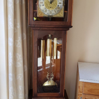 Hand made Grandfather clock