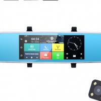 Full-HD Rearview Mirror Car DVR