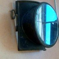 Antique Railway Lamp Lens