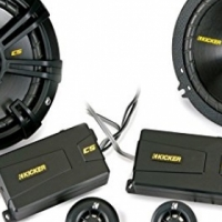 Kicker CSS65 6.5 inch component with tweeters - 4 ohm and 2 way cross overs