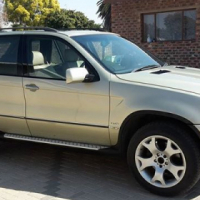 Bmw X5 with V8 4.3 conversion