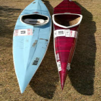 Two Sprint Canoes