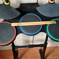 Ps3 Drum Set with Game