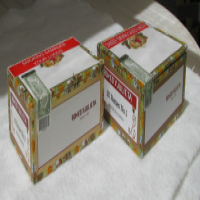 Empty Cedar Wood Cigar Boxes as Presentation Boxes for gifts