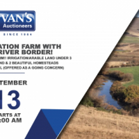 532 Ha Irrigation Farm with 5km Mooi River Border! Currently Working Dairy Farm!!